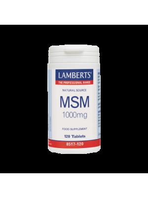 LAMBERTS MSM 1000MG 120TAB