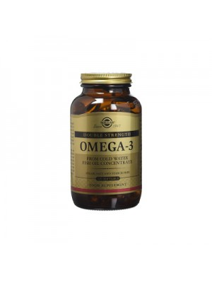 SOLGAR OMEGA-3 DOUBLE STRENGTH SOFTGELS 120S