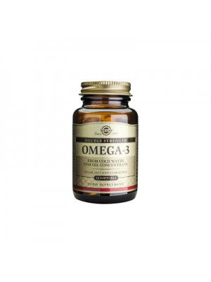 SOLGAR OMEGA-3 DOUBLE STRENGTH SOFTGELS 30S