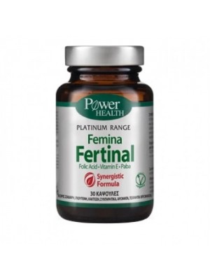POWER HEALTH PLATINUM FEMINA FERTINAL 30CAPS