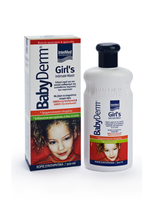 INTERMED BABYDERM GIRLS INTIMATE WASH 300ML
