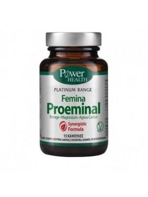 POWER HEALTH PLATINUM FEMINA PROEMINAL 15CAPS