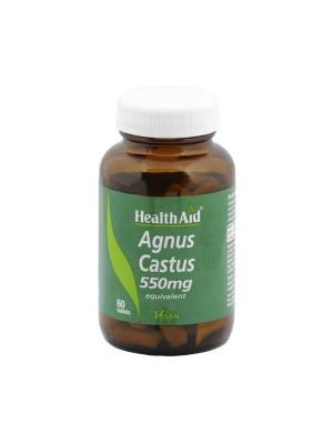 HEALTH AID AGNUS CASTUS 550MG 60'S
