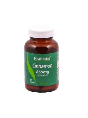 HEALTH AID CINNAMON 850MG 30'S