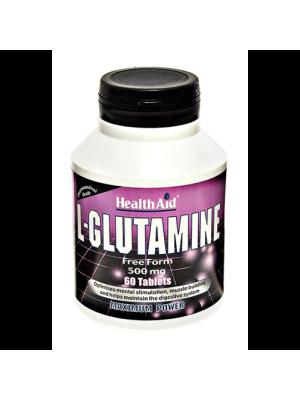 HEALTH AID L-GLUTAMINE 500MG 60'S
