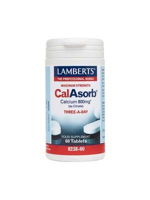 LAMBERTS CALASORB CALCIUM 800MG 60TAB