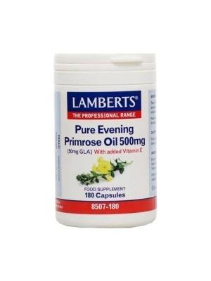 LAMBERTS EVENING PRIMROSE OIL 500MG 180CAP