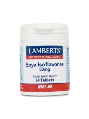 LAMBERTS SOYA ISOFLAVONES 50MG 60TAB.