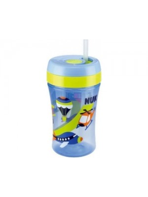 NUK EASY LEARNING FUN CUP ΜΠΛΕ 18m+ 300ML