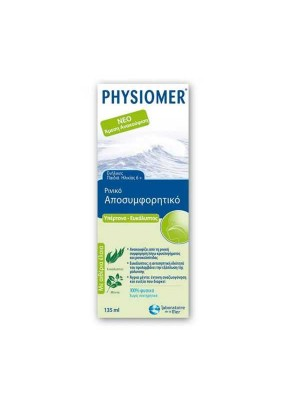 PHYSIOMER HYPERTONIC - EUCALYPTUS 135ml