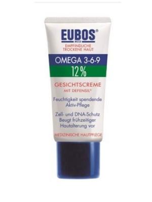 EUBOS OMEGA 3-6-9 FACE CREAM ΜE DEFENSIL 50ML