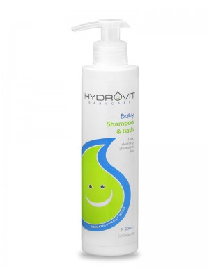 HYDROVIT BABY SHAMPOO & BATH 200ML