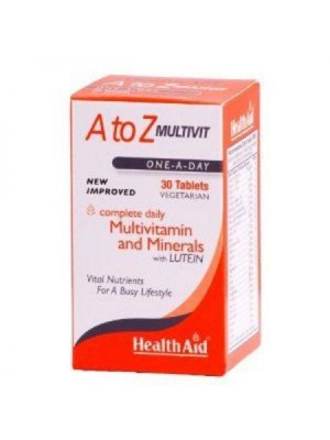 HEALTH AID A TO Z MULTIVIT TABLETS 30'S